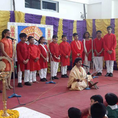 Durga Puja celebration at RPPS 1