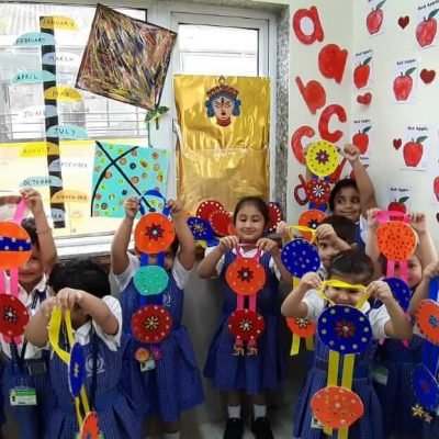 Durga Puja celebration at RPPS 11