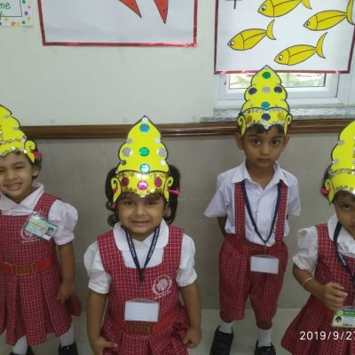 Durga Puja celebration at RPPS 12