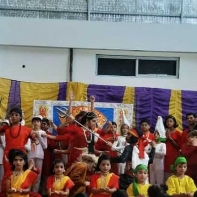 Durga Puja celebration at RPPS 13