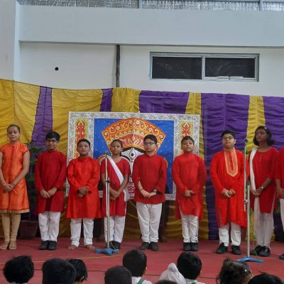 Durga Puja celebration at RPPS 2