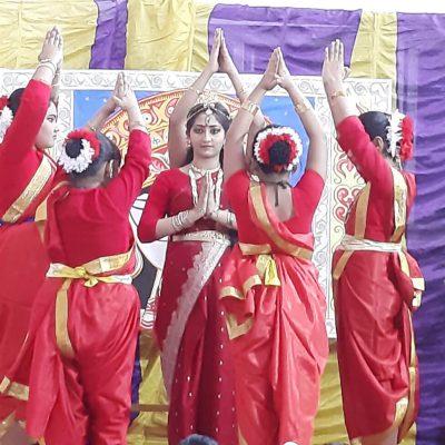 Durga Puja celebration at RPPS 4