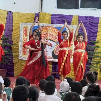Durga Puja celebration at RPPS 5