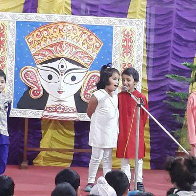 Durga Puja celebration at RPPS 6