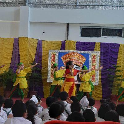 Durga Puja celebration at RPPS 7