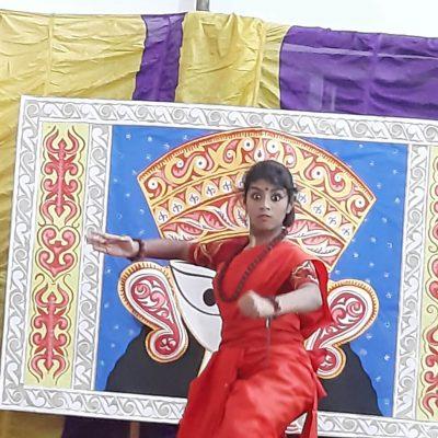 Durga Puja celebration at RPPS 8