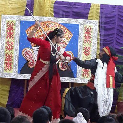 Durga Puja celebration at RPPS 9
