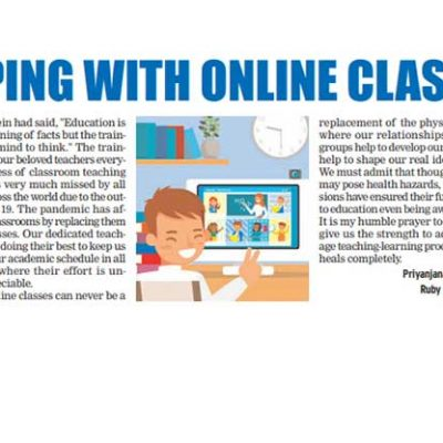 Coping with online classes